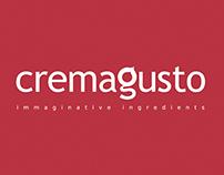 Cremagusto logo + label + pack + catalog