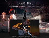 "Landing Page Film ""La Mina"""