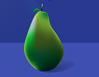 Vector art: a Pear