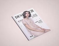 Layout Design - Fashion Magazine