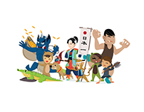 - Culture + Story Illustration -
