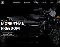 Uralmotorcycle redesign concept
