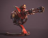 H8-X3 Plasma Minigun