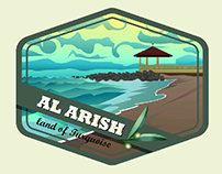 Al-Arish Logo - Personal Project