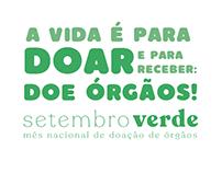 Setembro Verde - Doação de Órgãos