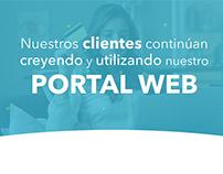 Infografía Portal web GyF