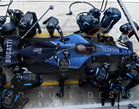 Bugatti 101P - F1 2020 Concept Final Livery