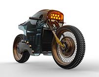 Sinister Cafe Racer Concept V2 WIRED UK - May 2017