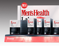 Mens Health POS visuals