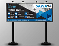 billboard for Sawa4 company