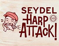 Seydel Harp Attack! poster