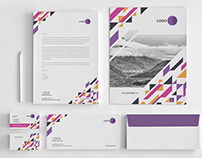 Futurist Concept Stationary Pack - 07