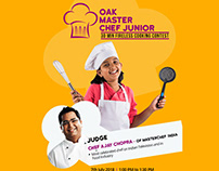 Oak Master Chef Junior - Contest