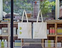 夏日茶屋購物袋 Tote Bag