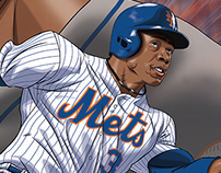 Curtis Granderson artwork