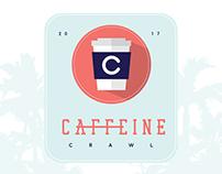 UX Design: San Diego Caffeine Crawl (2017)