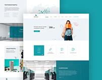 Редизайн сайта для рекламного агентства «Брендмедиа»