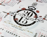 stationery/ folder- calendar