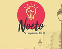 """""""Noeto"""" identité visuelle (logo et charte graphique)"""