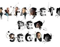 ARTISTIC FONT. New alphabet design