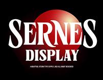 Sernes Display - Free Font