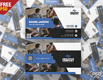 Corporate and Creative Business Card PSD