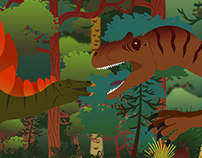 Motion Graphics: 'Food Chain' short film