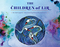 The Children of Lir, Published Illustrated Story Book