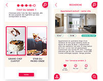 Immobilier - mobile first