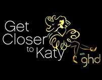 Get closer to Katy with ghd