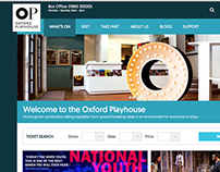 Oxford Playhouse Redesign - Design & UX