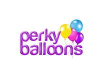 Perky Ballons Branding