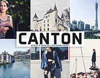 Free Canton Mobile & Desktop Lightroom Preset