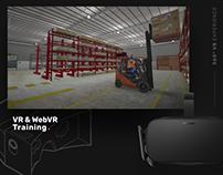 VR & WebVR Experience - Design (UI/IX/UX)