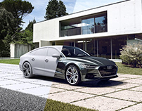 Personal Project - Audi A7 CGI