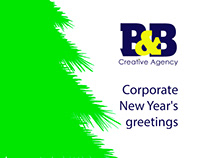 Corporate New Year's greetings and events