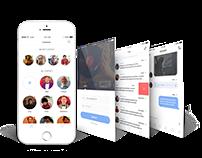 Chat App FREE PSD