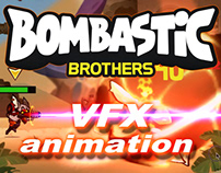 """2D FX ANIMATION FOR """"BOMBASTIC BROTHERS"""""""