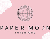 Paper Moon Interiors Branding