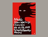 Staatstheater Mainz – Médée (Poster)