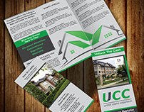 Tri-fold brochure and Flyers