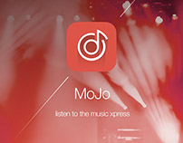 App Music MOJOplayer Design