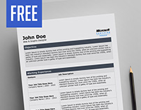 Free Word CV / Resume