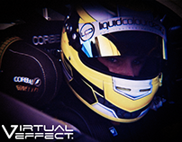 Virtual Effect Race Car Promo Video