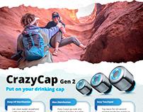 Poster Design for CrazyCap