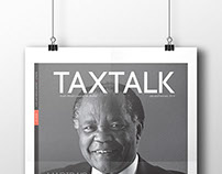 TaxTalk cover and nameplate redesign