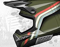 Scramble Motocross Helmet Design