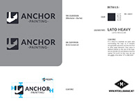 Anchor Painting Logo and Brand Guideline Development