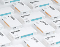 ALGOFENAC – medicine package design retouch