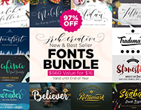 SALE 97% Off ! All Shop Font Bundle